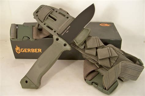gerber infantry survival knife gerber lmf ii foliage green infantry survival knife gr22 01626