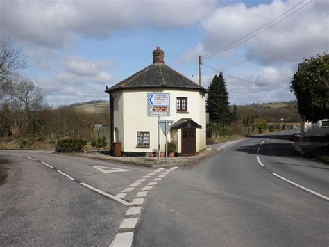 Toll House by File Toll House On The A396 Near Exebridge Geograph