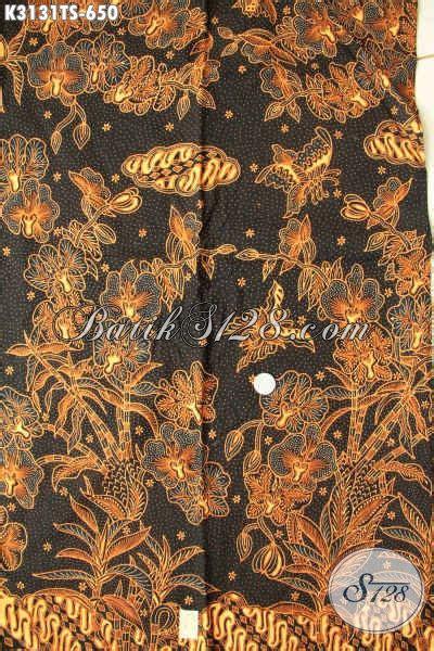 Kain Batik 72 Premium Soga 1 jual kan batik katun premium murah batik klasik tulis