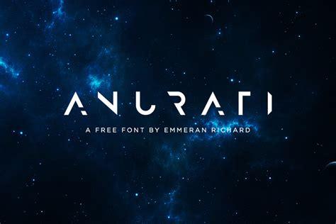 3d Game Design anurati free futuristic font