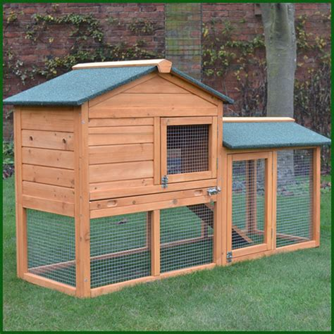 Rabbit Hutches With Runs bunny house rabbit hutch and run free cover included feel uk