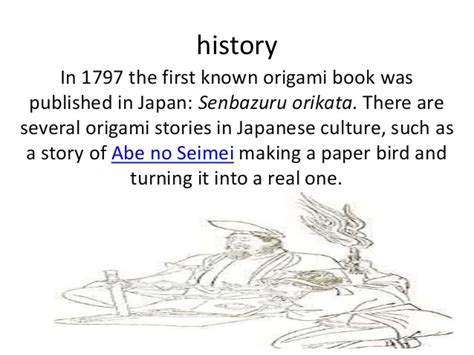History Of Origami In Japan - the history of origami in japan 28 images origami ppt
