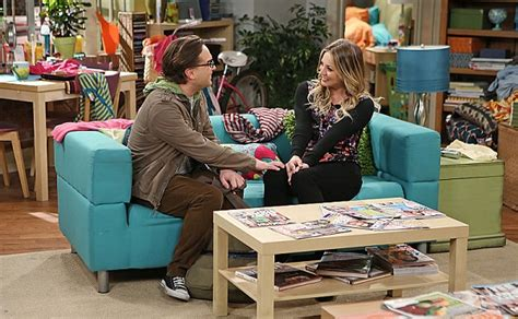She Saw Me Banging On The Sofa by Agreed Kaley Cuoco S Ready For The Big Theory Wedding