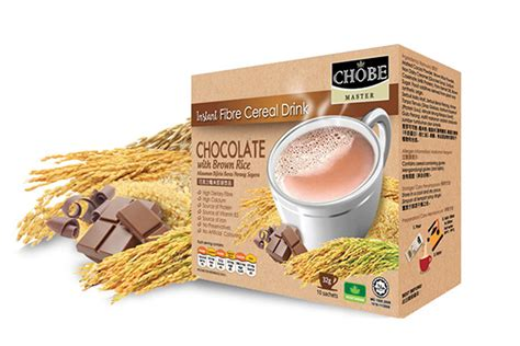 Instant Cereal Chocolate instant fibre cereal drink chocolate with brown rice