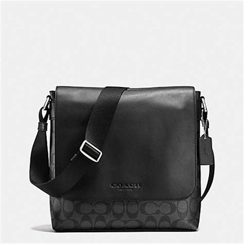 Coach Sulivan Messenger 1 coach f72109 sullivan small messenger in signature