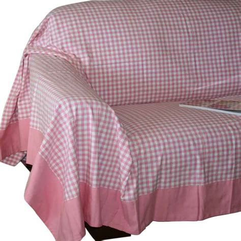 large throws to cover sofas gingham check extra large cotton sofa throw bed covers