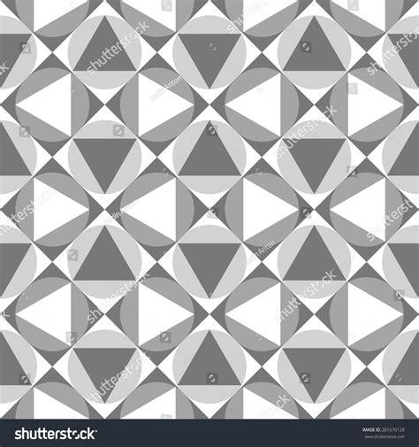 simple geometric pattern vector seamless pattern simple geometric shapes vector stock