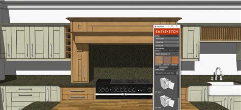 Sketchup Kitchen Design Easysketch Kitchen Design Plugin Sketchup Extension