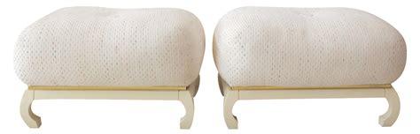 asian james mont style poufs a pair chairish