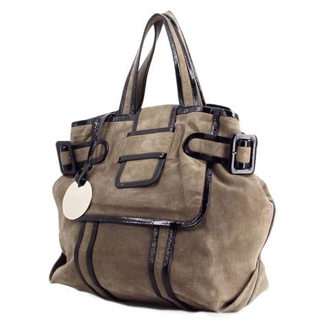 Hardy Suede And Metallic Leather Bag by Hardy Handbag 216361 Collector Square
