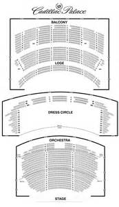 Cadillac Palace Seating Chart Cadillac Palace Theatre Seating Chart Theatre In Chicago