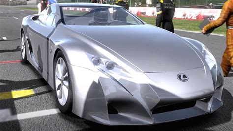 lexus lfa concept need for speed shift lexus lfa concept 2007 test