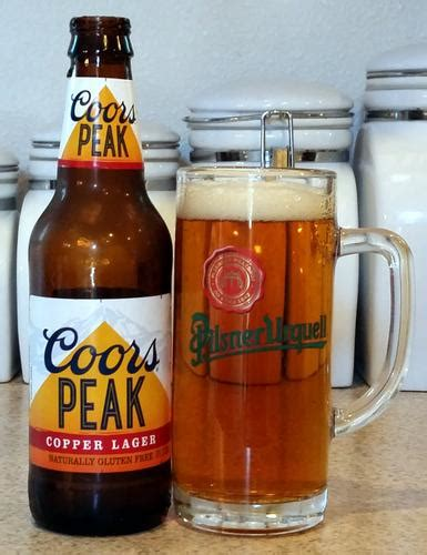 is coors light a rice beer review coors peak copper lager the brew site