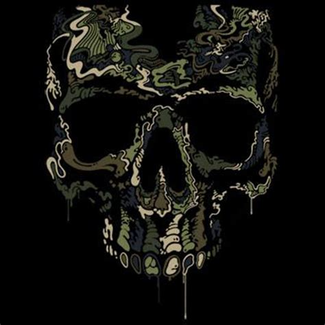 camo skull tattoo t shirt custom design special ops camouflage skull
