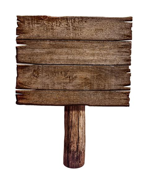 old wooden sign board or post stock images image 34382934