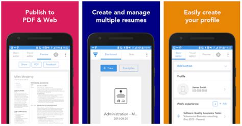 7 best resume apps for android and ios updated 2018
