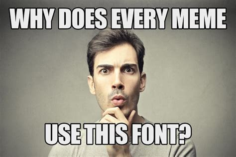 Internet Video Memes - the reason why every internet meme uses the same font designtaxi com