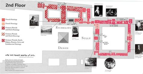 the louvre floor plan 2nd floor museums and google on pinterest