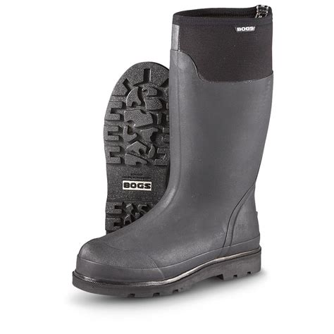 rubber boot clearance men s bogs 174 journeyman rubber boots black 236193