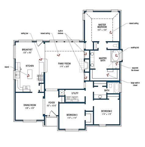 Tilson Home Plans | bridgeport tilson homes home mostly one level