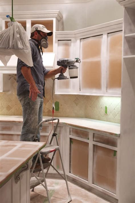 spraying kitchen cabinets hvlp best paint sprayer for cabinets hvlp options more