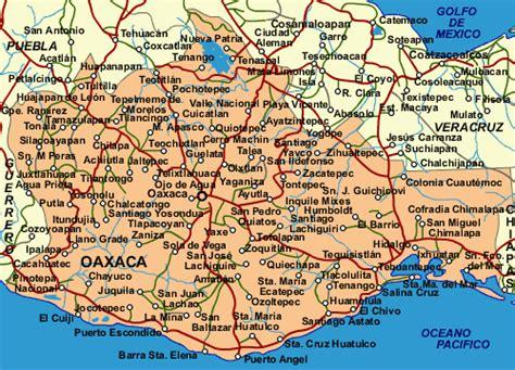 Mapa De Oaxaca Mexico | mapa de oaxaca map of mexico directory
