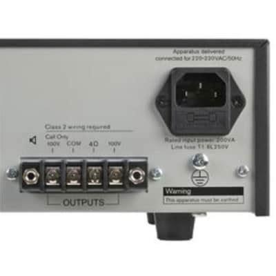 Mixer Audio Bosch bosch ple 1me120 120w 100v line mixer lifier bosch