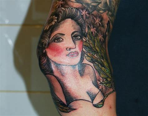 tattoo old school mujer tatuaje brazo old school mujer por stademonia tattoo