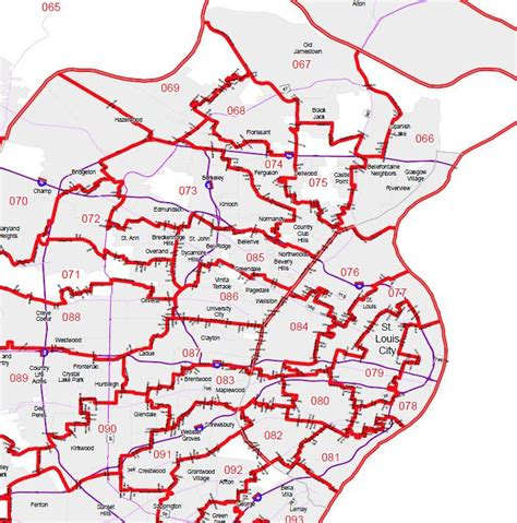 missouri house of representatives new missouri state house senate redistricting maps released st louis public radio