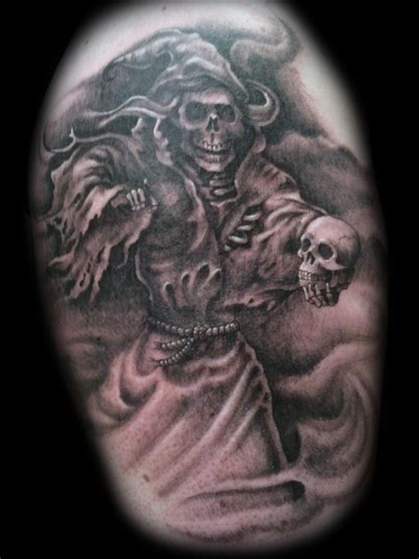 tattoo reaper designs grim reaper tattoos designs