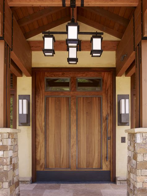 21 stunning craftsman entry design ideas