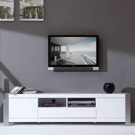 Ikea Console Cabinet by B Modern Composer 79 Quot High Gloss White Tv Stand Bm 100