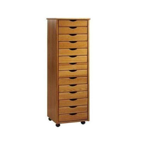 Wide Storage Drawers by Home Decorators Collection Stanton Oak 14 Drawers Wide