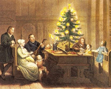 christmas traditions origin and history of christmas trees