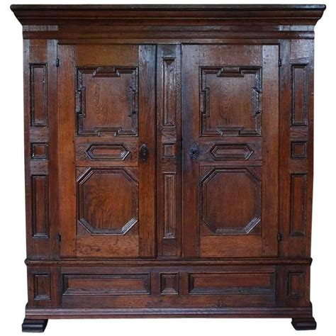 Oakwood Cabinets by 18th Century German Oakwood Cabinet For Sale At 1stdibs