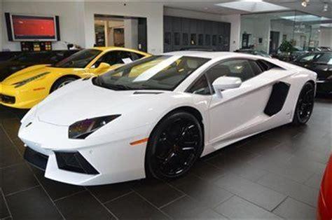Lamborghini Aventador White Interior Find Used 2012 Lamborghini Aventador White Black Interior