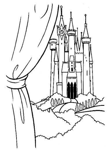cinderella castle coloring pages print princess cinderella color pages printable the prince s