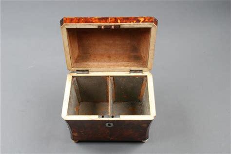 Box Hitam Outdoor Indoor Serbaguna 1285 18th century georgian tortoise shell tea caddy
