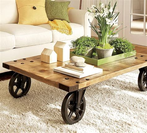 Rustic Coffee Tables With Wheels Best 29 Images Rustic Coffee Table On Wheels Rustic Console Table