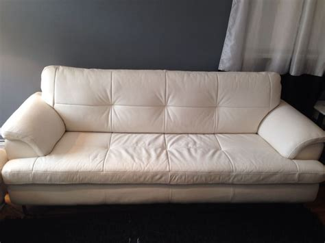 leather sofa cleaning everett sofa ivory leather stripes nailhead sofa thesofa