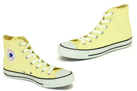 light yellow converse shoes yellow allstar shoes