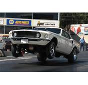 1969 Ford Mustang Drag Car At Barrett Jackson Scottsdale 2010