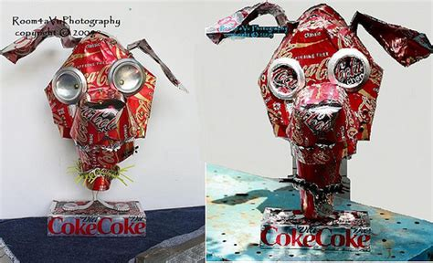 can sculpture recycled art quot diet coke quot can sculpture lately i ve been