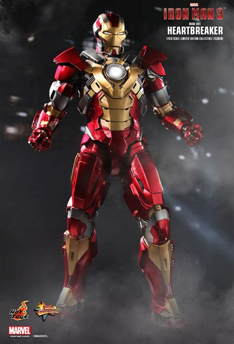 Toys Ironman Iii toys iron 3 17 quot heartbreaker quot sixth scale figure pre order available 171 pop critica