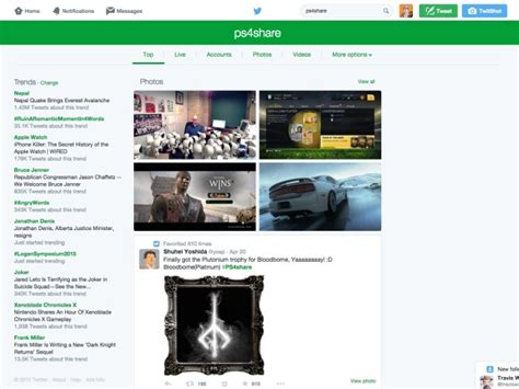 twitter new layout 2015 twitter is testing a new search ui and we take a look at