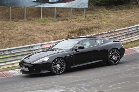 2016 aston martin db9 2016 aston martin db9 spied it s powered by an