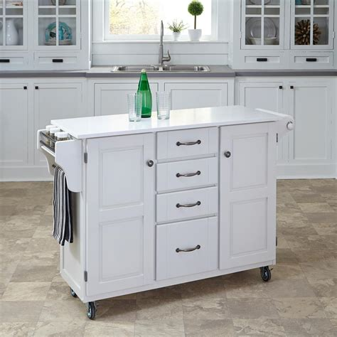 home styles create a cart natural kitchen cart with quartz home styles create a cart white kitchen cart with quartz