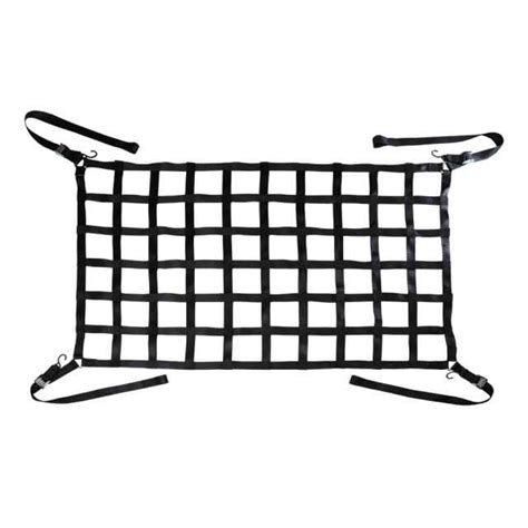 cargo net for truck bed long bed truck cargo net 82 quot x50 quot black webbing