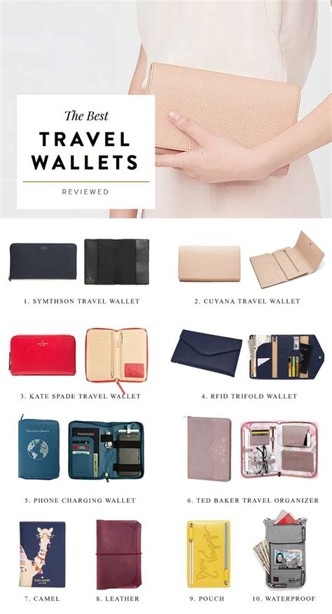 best travel wallet the best travel wallets to organize your vacation essentials