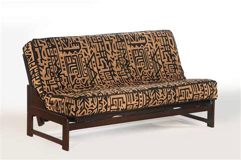 armless futon frame full eureka armless futon 1800easybed com